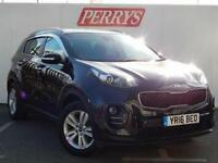 2016 Kia Sportage 1.7 CRDi ISG 2 5 door Diesel Estate