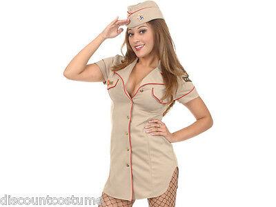 AIR FORCE BRAT ADULT HALLOWEEN COSTUME WOMEN'S MEDIUM 8-10 ()