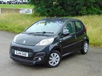 2014 Peugeot 107 1.0 Active 5 door 2-Tronic Petrol Hatchback