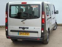 2017 Vauxhall Vivaro 2900 1.6CDTI BiTurbo 125PS H1 Combi 9 Seat Diesel Van