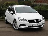 2017 Vauxhall Astra 1.0T 12V ecoFLEX Elite Nav 5 door Petrol Hatchback