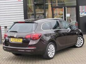 2015 Vauxhall Astra 1.6i 16V Elite 5 door Petrol Estate