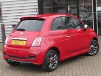2014 Fiat 500 1.2 S 3 door Petrol Hatchback