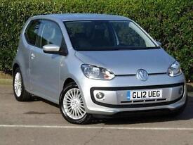 2012 Volkswagen up! 1.0 High Up 3 door Petrol Hatchback