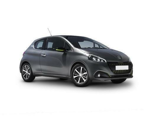 2017 Peugeot 208 1.2 PureTech 82 Black Edition 3 door Petrol Hatchback