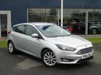 2014 Ford Focus 1.0 EcoBoost 125 Titanium 5 door Petrol Hatchback