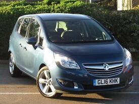 2016 Vauxhall Meriva 1.6 CDTi 16V ecoFLEX Tech Line 5 door Diesel Estate