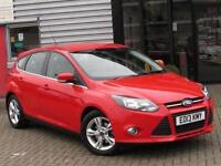 2013 Ford Focus 1.6 125 Zetec 5 door Powershift Petrol Hatchback