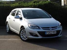 2012 Vauxhall Astra 1.6i 16V SE 5 door Auto Petrol Hatchback