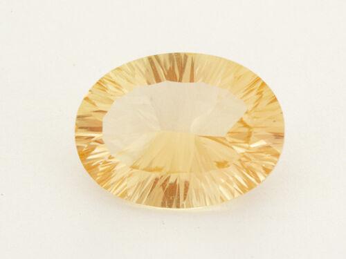 8.1ct Champagne Concave Oval Oregon Sunstone (ES834)