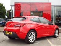 2014 Vauxhall Astra GTC 1.7 CDTi 16V ecoFLEX SRi 3 door [114 g/km] [SS] Diesel C