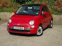 2015 Fiat 500 1.2 Lounge 3 door [Start Stop] Petrol Hatchback