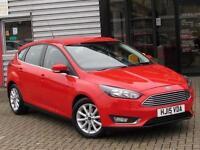 2015 Ford Focus 1.6 125 Titanium 5 door Powershift Petrol Hatchback