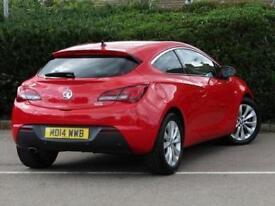 2014 Vauxhall Astra GTC 1.4T 16V 140 SRi 3 door Petrol COUPE