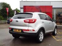 2012 Kia Sportage 1.7 CRDi ISG 2 5 door Diesel Estate