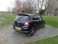 2014 Vauxhall Corsa 1.4T Black Edition 5 door Petrol Hatchback