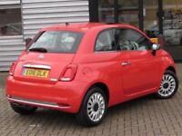 2016 Fiat 500 1.2 Lounge 3 door Petrol Hatchback