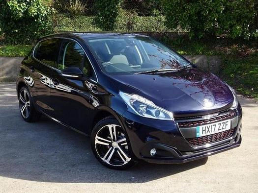 2017 peugeot 208 1 2 puretech 110 gt line 5 door petrol hatchback in portsmouth hampshire. Black Bedroom Furniture Sets. Home Design Ideas