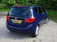 2014 Vauxhall Meriva 1.7 CDTi 16V SE 5 door Auto Diesel Estate