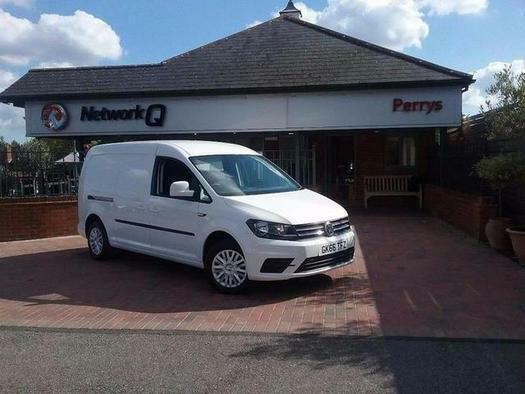 2016 Volkswagen Caddy 2.0 TDI BlueMotion Tech 102PS Trendline Van Diesel