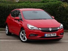 2016 Vauxhall Astra 1.4T 16V 150 SRi 5 door Auto Petrol Hatchback