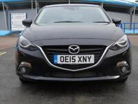 2015 Mazda 3 2.2d SE-L Nav 5 door Auto Diesel Hatchback