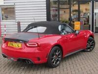 2017 Abarth 124 Spider 1.4 T Multiair 2 door Petrol Convertible