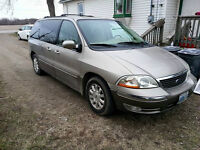 2003 Ford Windstar special edition Minivan, Van safety e tested