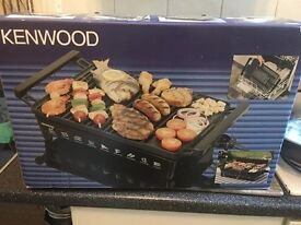 Brand new Kenwood electric grill ideal indoor use or out doors dishwasher proof all boxed & sealed