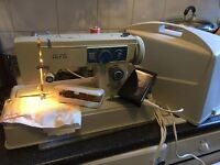 Electric heavy duty sewing machine full working order comes with spare parts and case