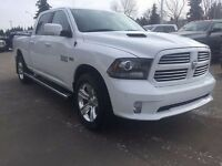 2014 Ram 1500 Sport ~ Loaded ~ 5.7L ~ 8 Speed ~ 4x4 ~ $295 B/W
