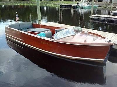 Chris Craft 1949 Sportsman 18 Mahogany Wooden Wood Boat