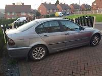 53 BMW 320TD 6 SPEED. MOT SEP. CHEAP CAR TAKEN IN PX