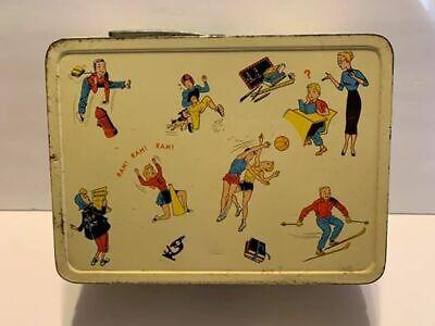 Vintage 1960s The Ohio Art Company Metal Lunchbox
