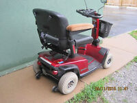 heavy duty Mobility Scooter with charger front basket --lights--