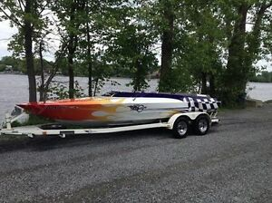 Eagle-outlaw full Aluminium jetboat 21 pied West Island Greater Montréal image 1