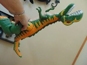 grand dinosaure fisher price sons et yeux allument