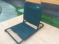 Fox Bivvy Fishing Chair In Beautiful Condition - Fits Onto Any Bedchair In A Bivvy