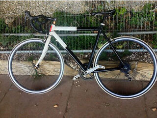 BTYO 145£ british made racing bike iron and carbon very fast:0