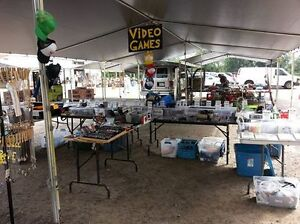VIDEO GAMES OUTDOORS at COURTICE FLEA MARKET