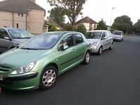 Peugeot 307 for Spares Or Repairs 1.6 2004 snapped cam