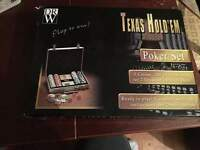 BRAND NEW TEXAS HOLD'EM POKER SET.