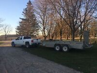 Moving Services / Guy With A Truck & Trailer For Rent