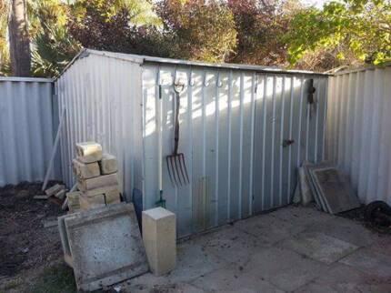 colorbond garden shed