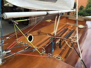 Timber Sabre dinghy vgc, registered road trailer & launch dolly Sale Wellington Area Preview