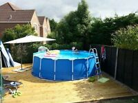 FOR SALE - Swimming Pool & All Bits - ONLY £295!!
