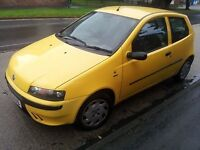 52 plate fiat punto £325 NO OFFERS