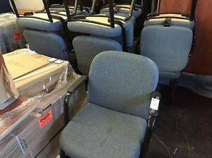 Grey Reception chairs