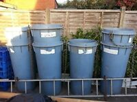 builders rubble chute skip chute 7 pieces heavy duty £190 no offers COLLECTION ONLY COVENTRY