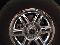 17 Inch Winter Tires on Aftermarket Rims P265/70/R17